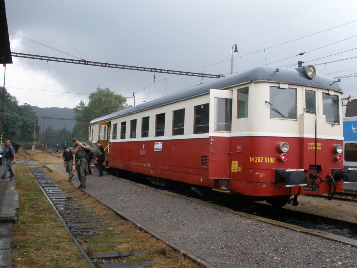 Historický vlak - ilustrační foto