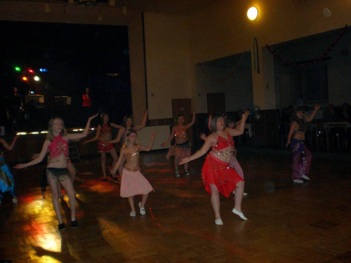 Taneční vystoupení - Koštice