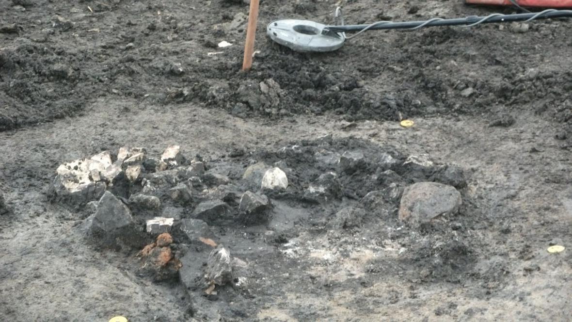 Nálezy z objevené keltské osady v Novosedlech