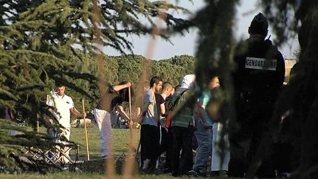 Zátah na islamisty ve Francii