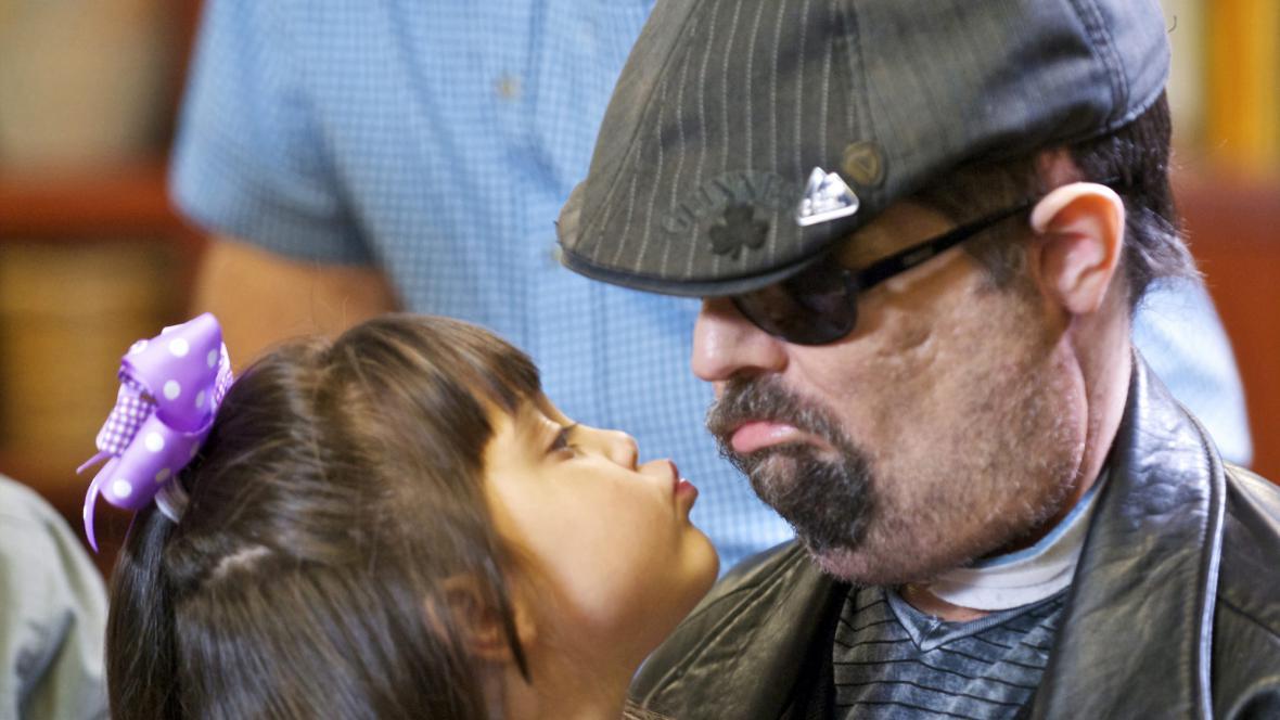 Dallas Wiens a jeho dcera