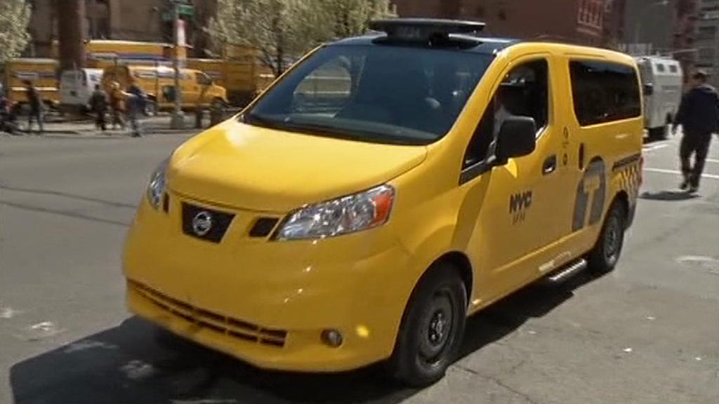 Nový newyorský taxík s hybridním pohonem