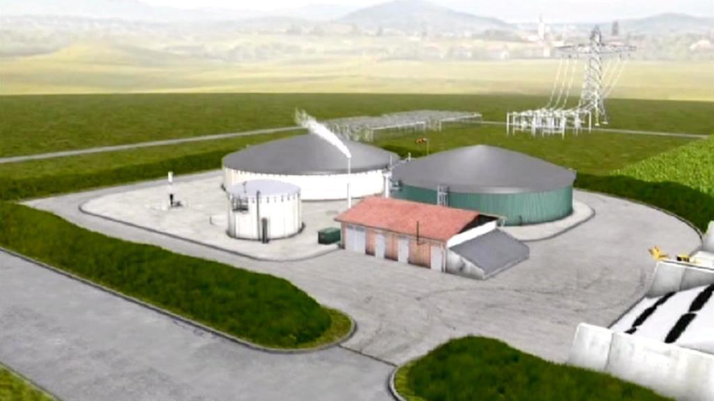 Vizualizace bioplynové stanice v Kozojídkách