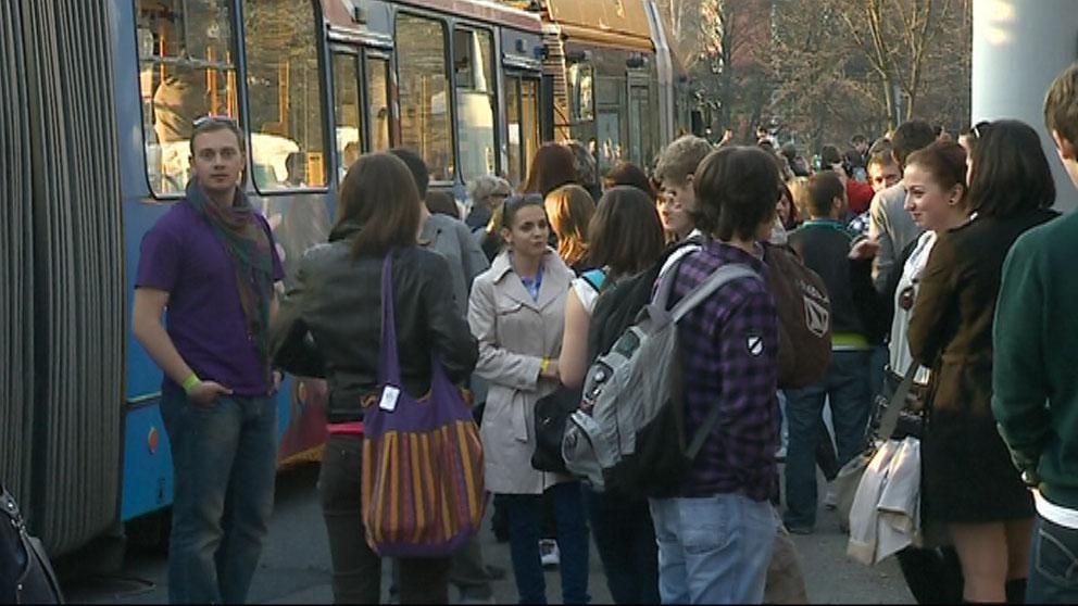 Návštěvníci Busfestu
