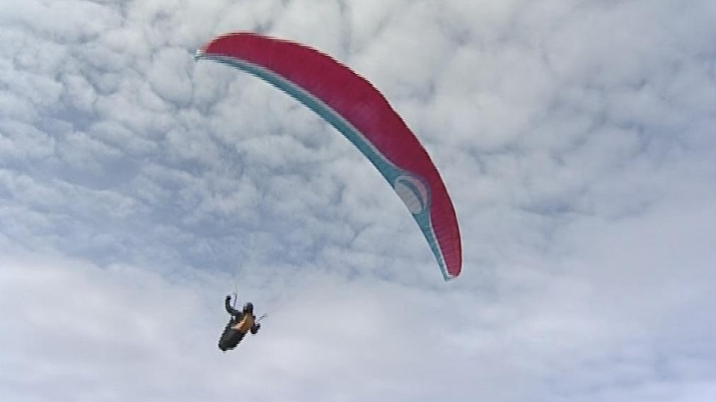 Paragliding na Pálavě