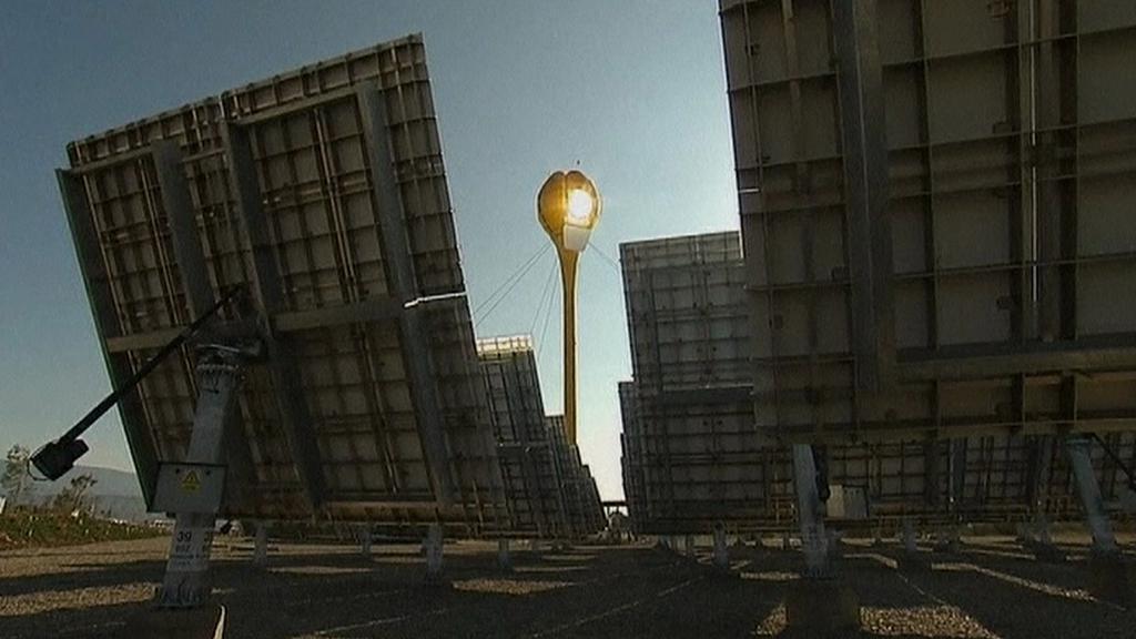 Hybridní elektrárna ve Španělsku
