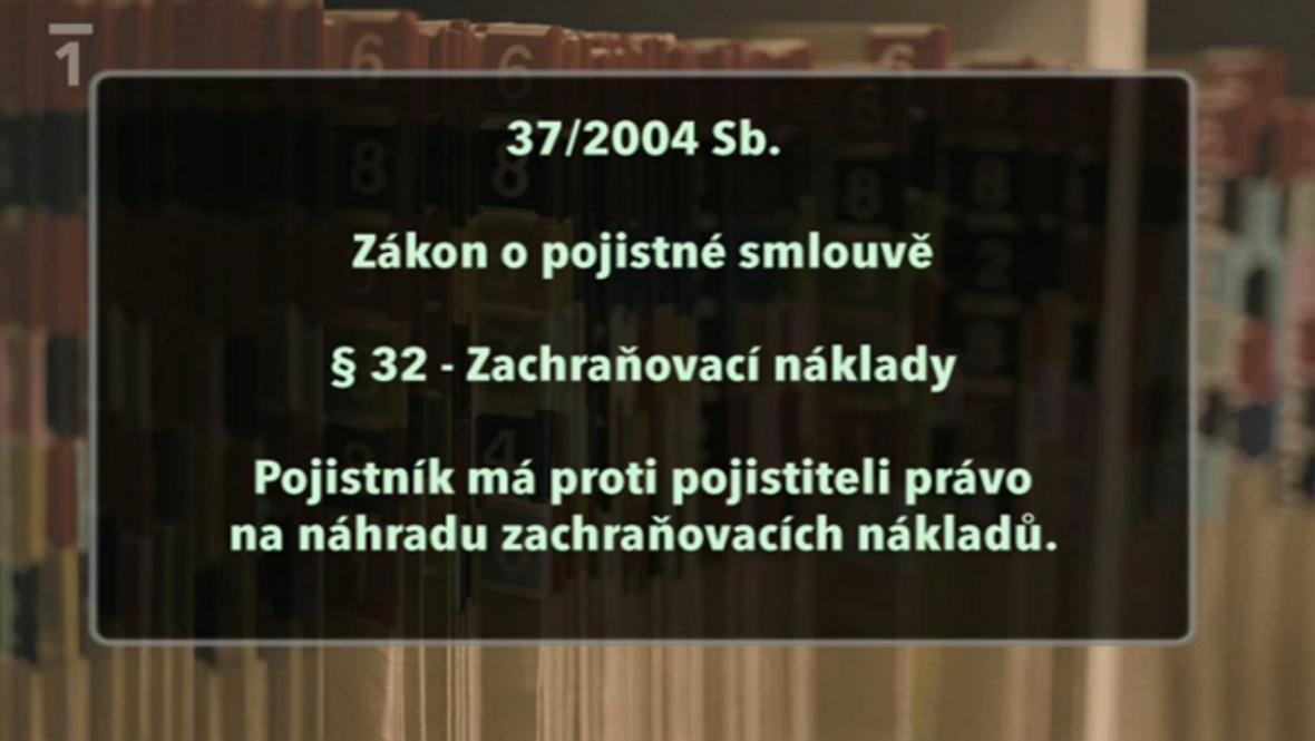 Paragraf 32 Zákona o pojistné smlouvě