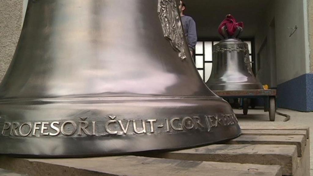 Zvony pro katedrálu svatého Víta