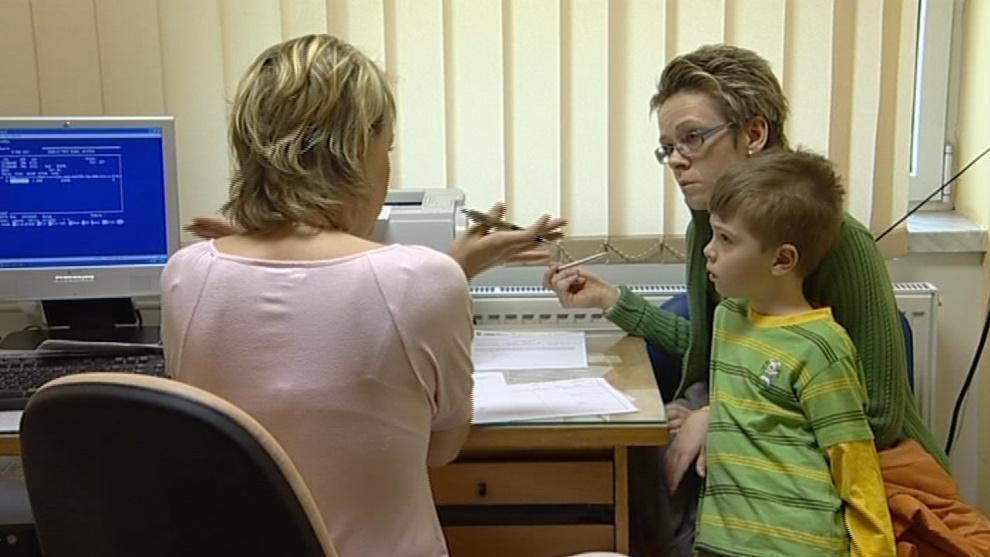 Vyšetření u dětského lékaře