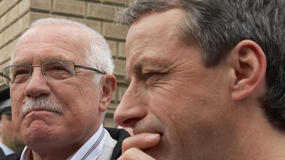 Václav Klaus a Pavel Bém