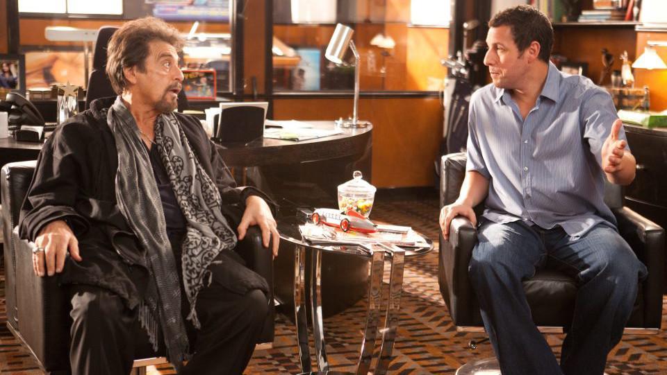 Al Pacino a Adam Sandler