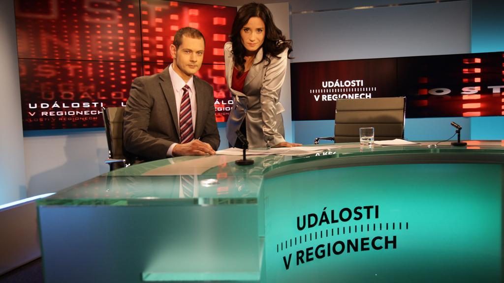 Helena Dohnalová a Tomáš Vzorek v novém studiu