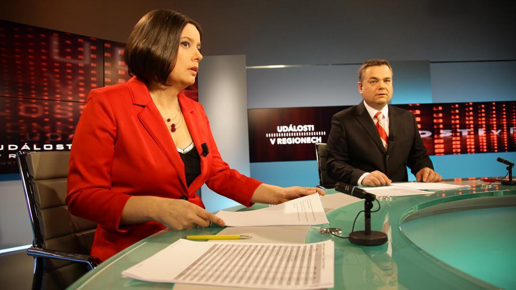Monika Horsáková a Richard Piskala v novém studiu