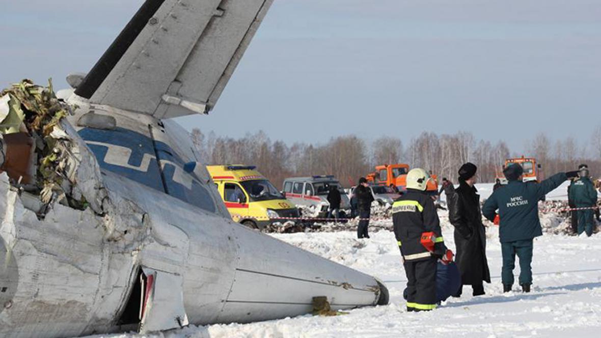 Nehoda letadla u města Ťumeň