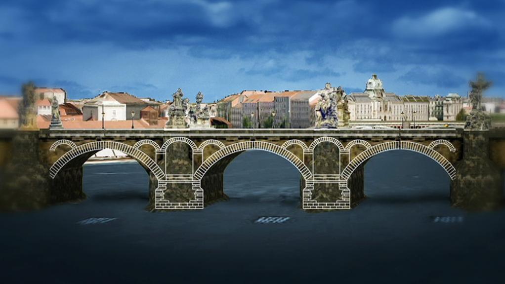 Dutiny v Karlově mostu