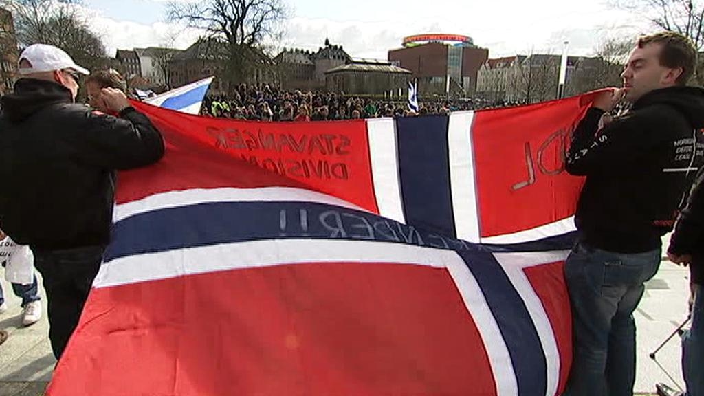 Sraz extrémní pravice v Dánsku