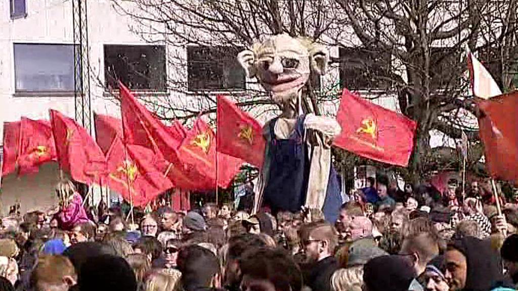 Protiakce dánských komunistů
