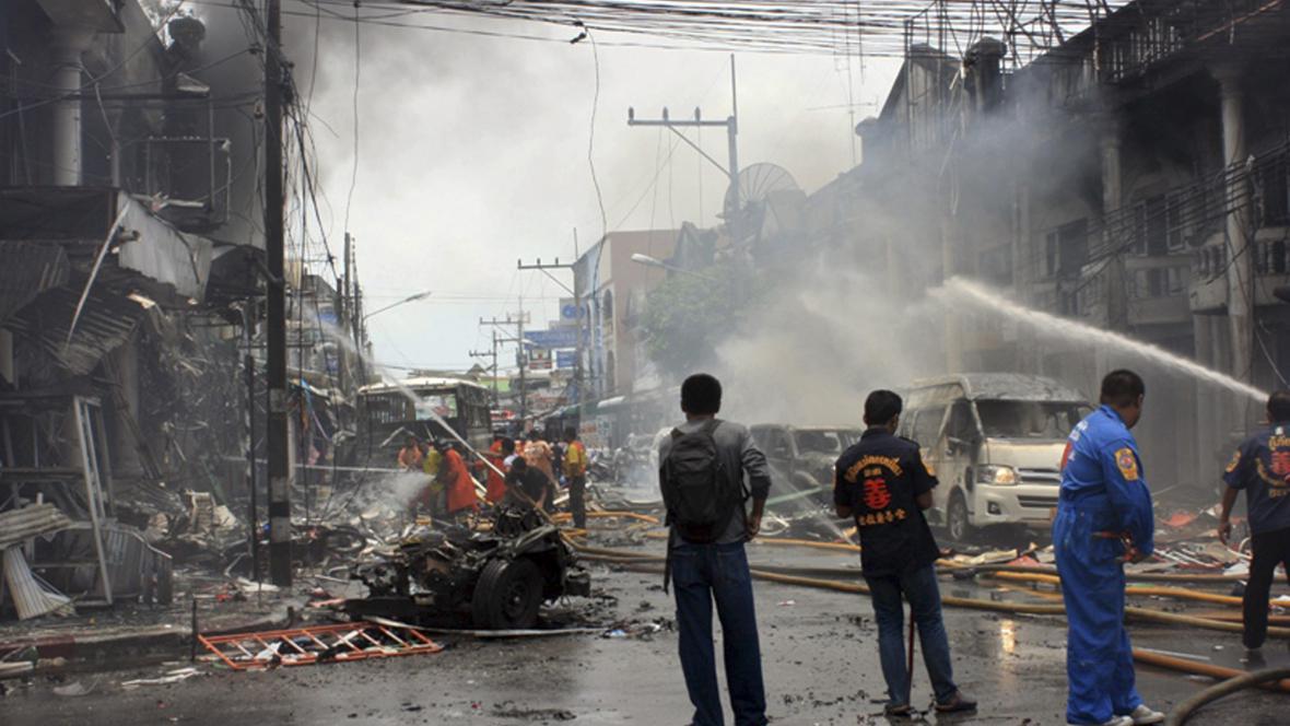 Výbuchy v Thajsku