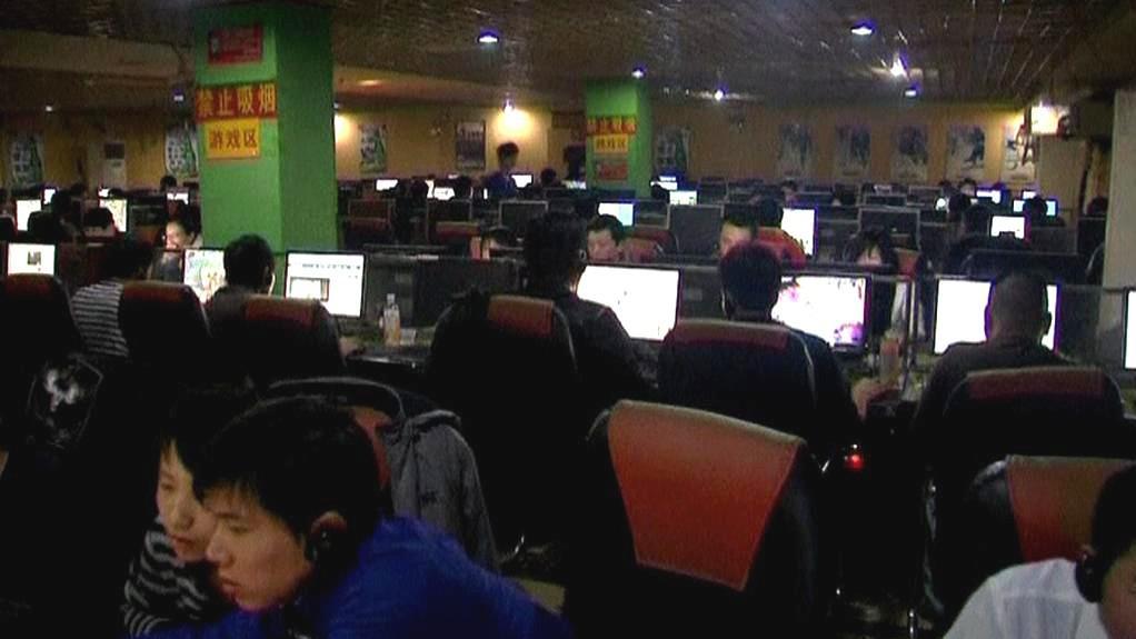 Čínská internetová kavárna
