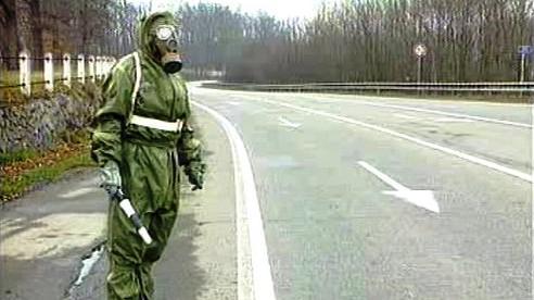Nácvik jaderné havárie