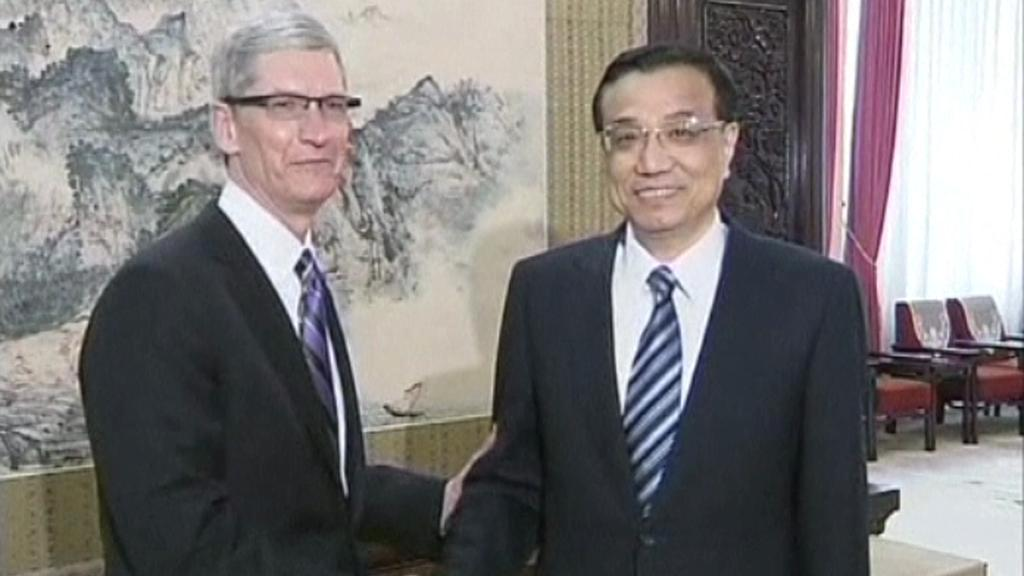 Tim Cook a Li Kche-čchiang