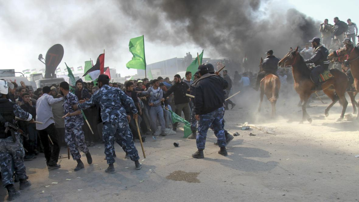 Protesty v pásmu Gazy