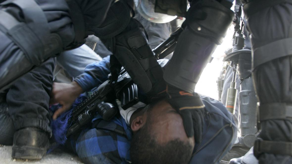 Protesty na Den půdy v Izraeli