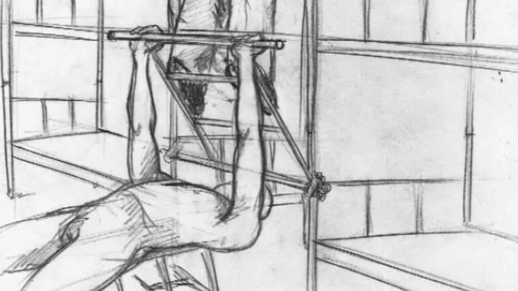 Roman Týc / kresba z vězení