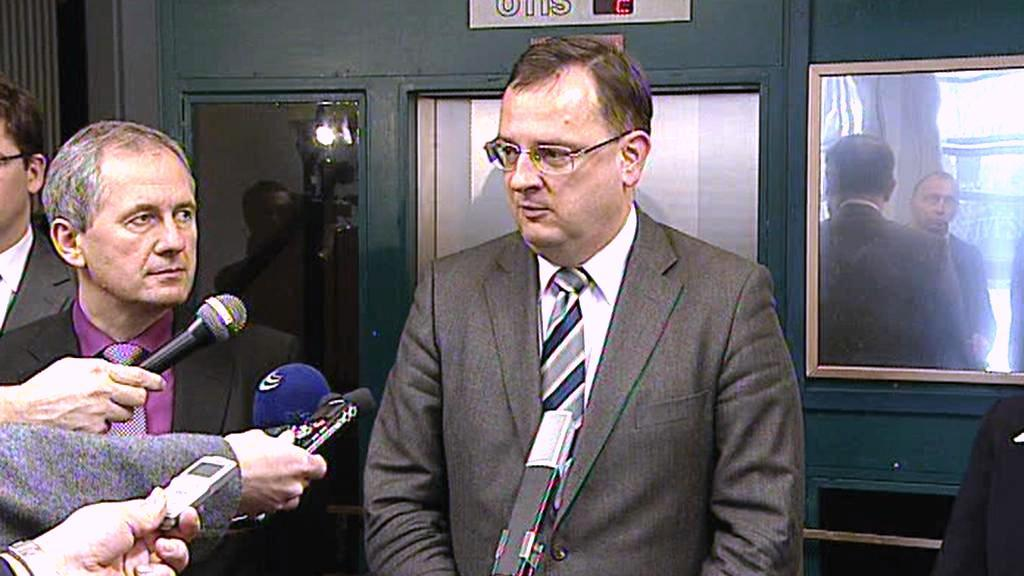 Petr Nečas a Josef Baxa