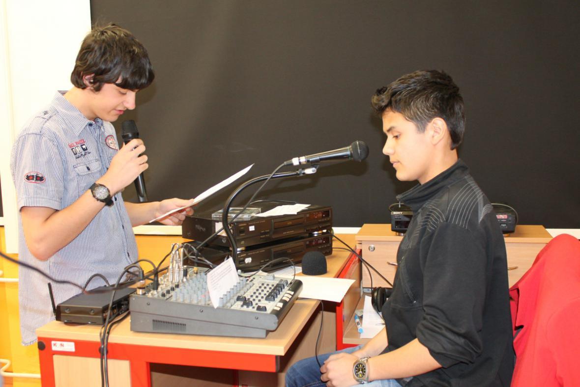 Mediální projekt v ZŠ Rudník u Vrchlabí