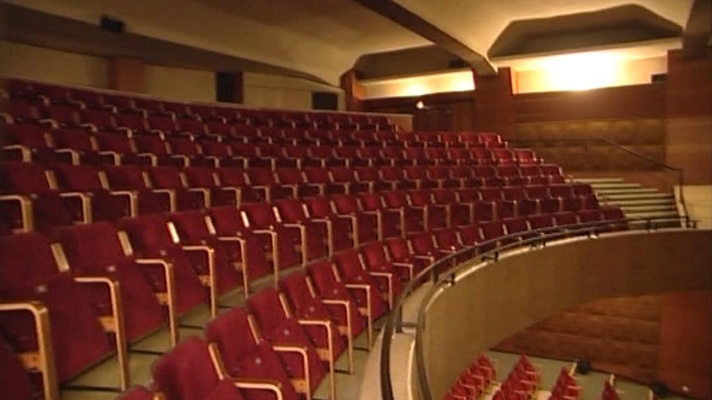 Hlediště kina Scala