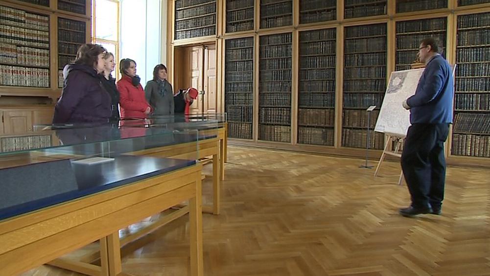 Matrice pro historické mapy vystavují v Kroměříži