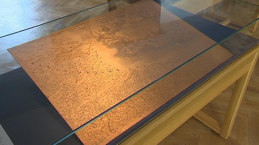 Historické mapy Moravy z 16. až 18. století