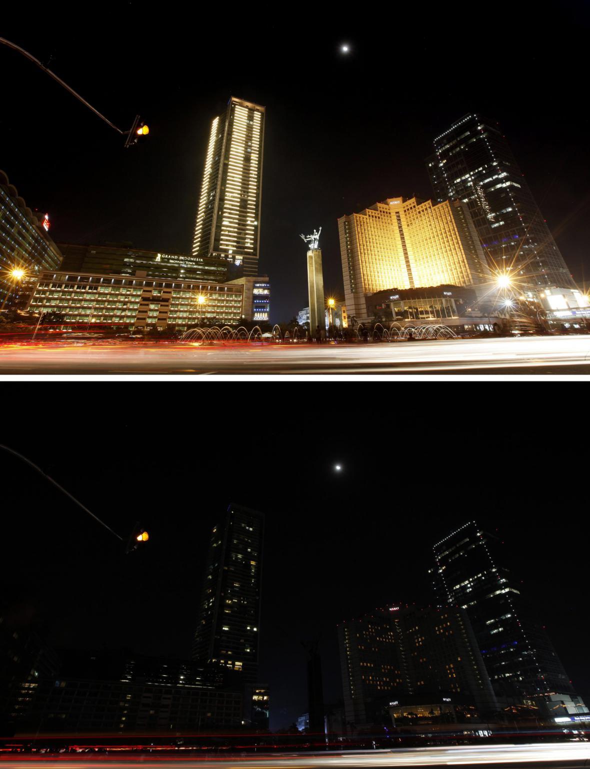 Hodina Země - Jakarta