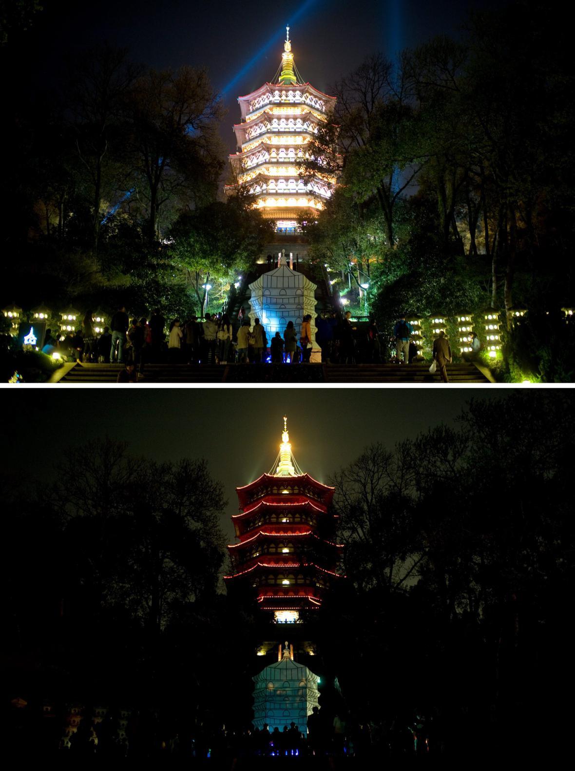Hodina Země - Hang-žu, Čína