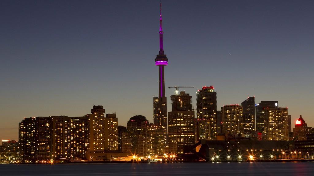 Toronto těsně před Hodinou Země