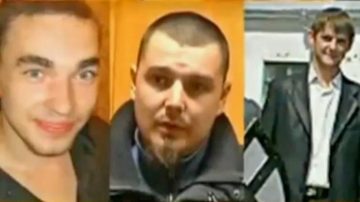 Trojice Ukrajinců odpovědných za smrt Oksany Makarové