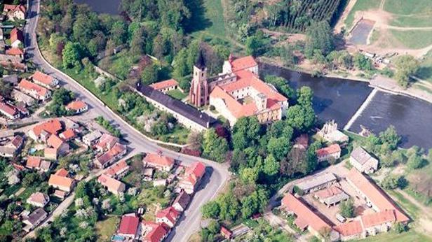 Sázavský klášter, okres Benešov