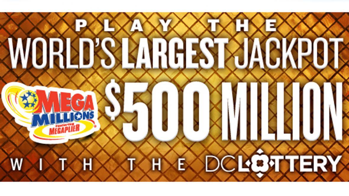 V loterii Mega Millions se hraje o 500 milionů dolarů