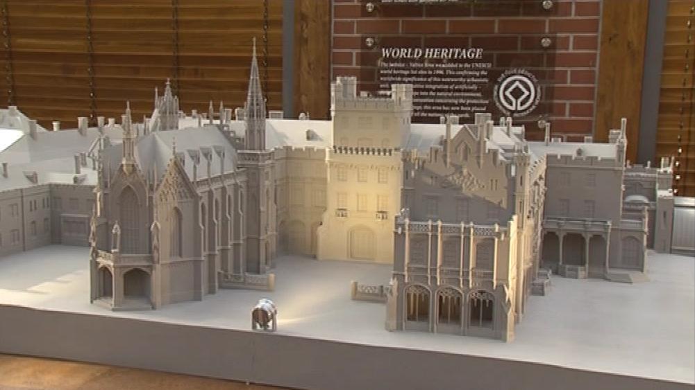 Miniatura zámku v Lednici