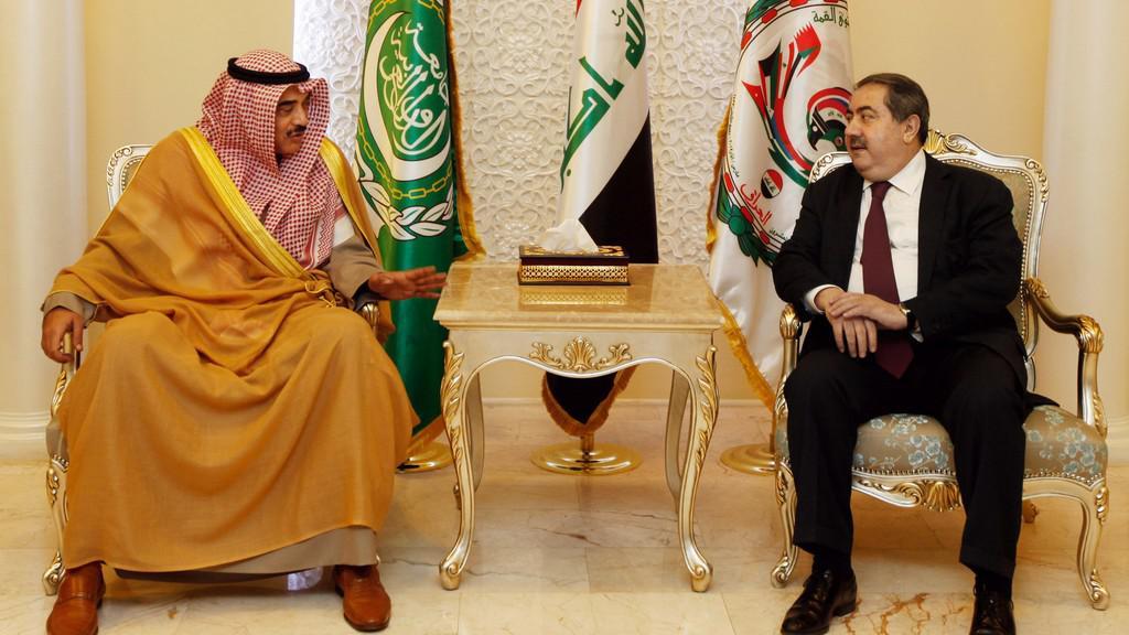 Hošjar Zibarí a Šabah Al Ahmad Al Šabah