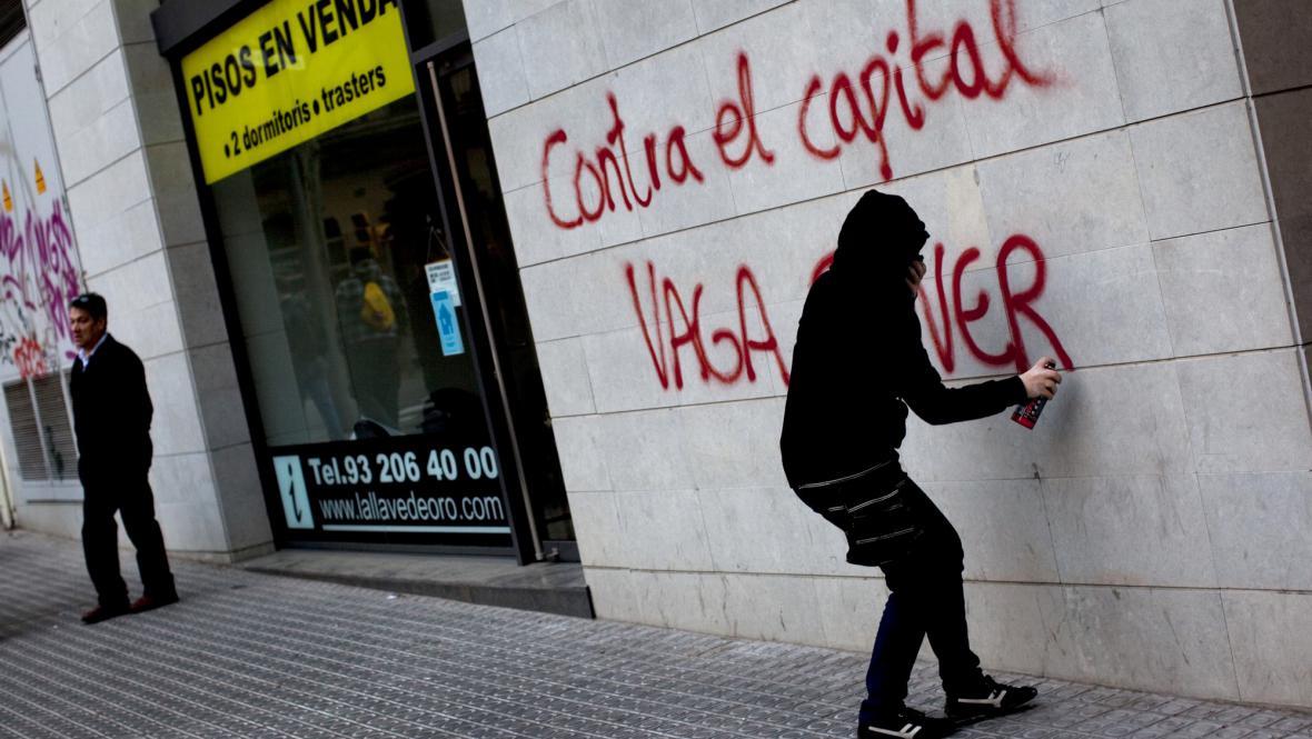 Protesty ve Španělsku