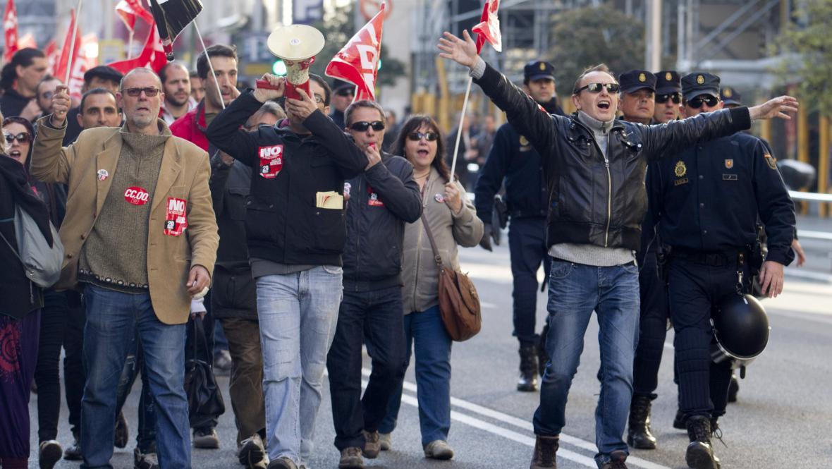 Stávka ve Španělsku