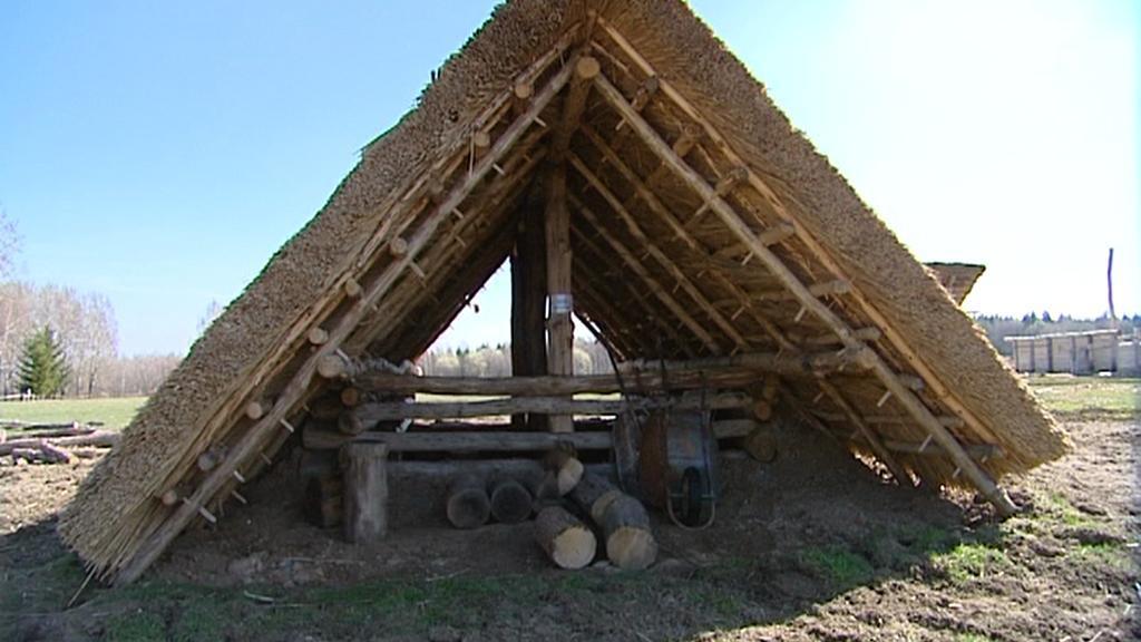 Keltská vesnice