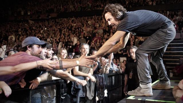 Koncert kapely Pearl Jam