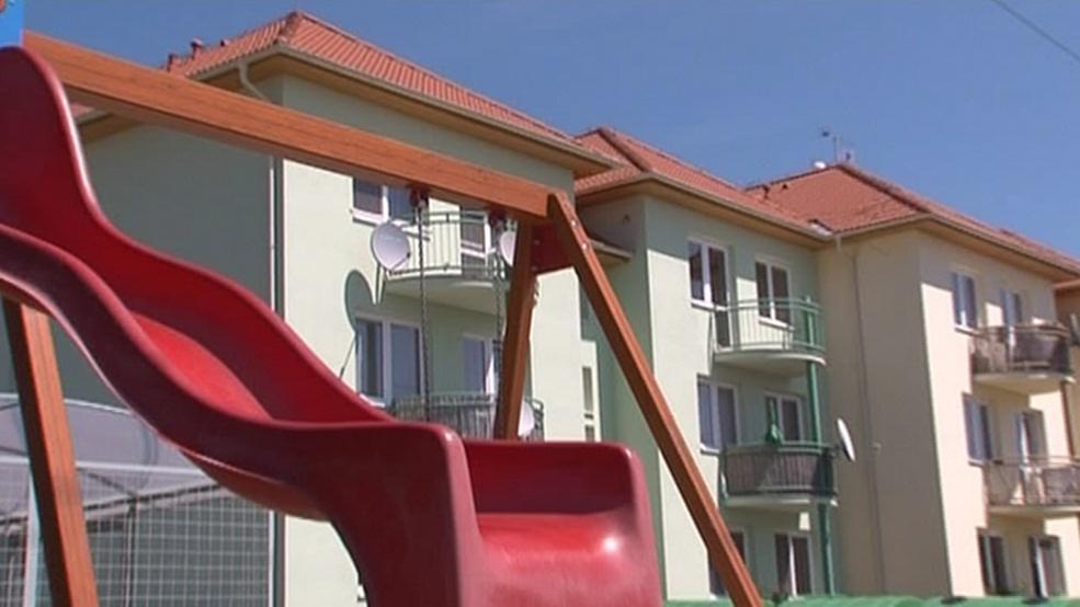 Obecní byty, které Hodonice postavily za dotace