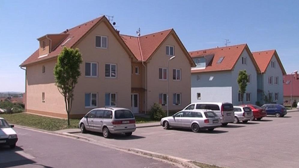 Nové obecní byty, které Hodonice postavily za dotace