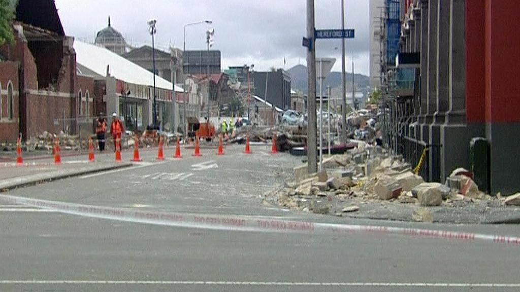 Zemětřesení v Christchurchi