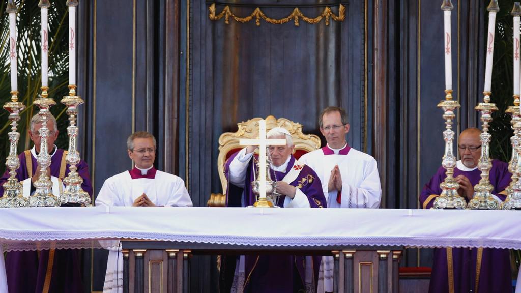 Papežova mše v Havaně