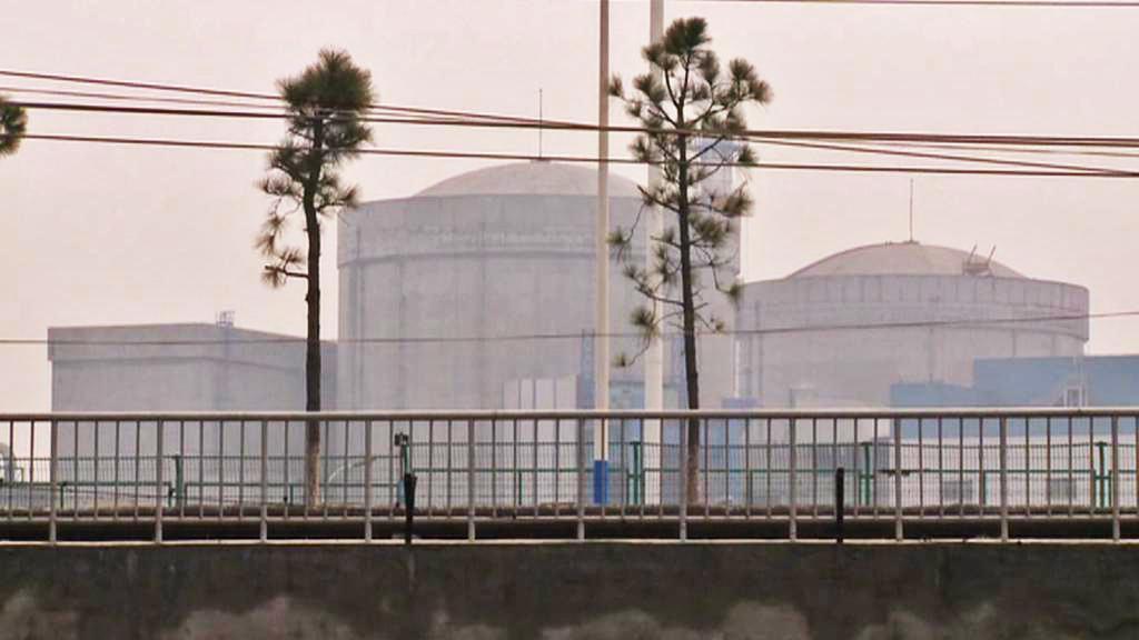 Čínská atomová elektrárna